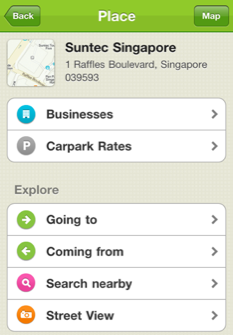 See businesses and carpark rates for commercial buildings