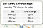 See ERP gantry locations
