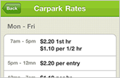 Compare carpark rates